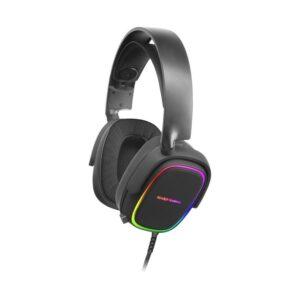 Headset MARS GAMING MHAX RGB 2.0 Preto