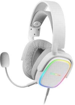 Headset MARS GAMING MHAX RGB 7.1 Branco