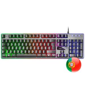 Teclado MARS GAMING MK220PT H-Mechanical Gaming Keyboard PT