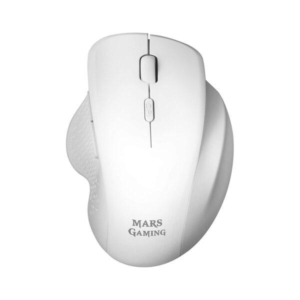 Rato MARS GAMING MMWERGO Wireless Branco