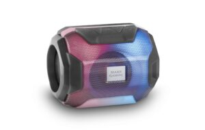 Coluna MARS GAMING RGB Bluetooth Black