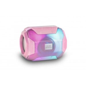 Coluna MARS GAMING RGB Bluetooth Pink