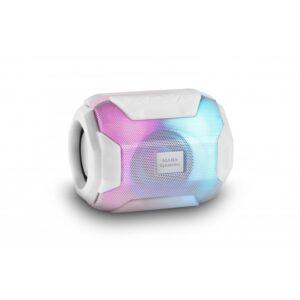 Coluna MARS GAMING RGB Bluetooth White