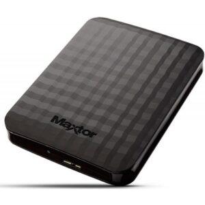 Disco Ext. MAXTOR M3 2.5 1TB USB 3.0 Preto - HX-M101TCB/GMR