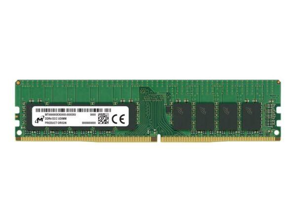 MEMÓRIA MICRON 16GB DDR4 2666MHz CL19 ECC