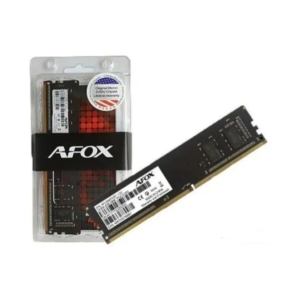 MEMÓRIA MICRON 8GB DDR4 2666MHz CL19 (AFOX)