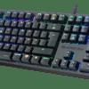 TECLADO MKPLUS Slayer M3 Mechanical Gaming RGB PT Red SW