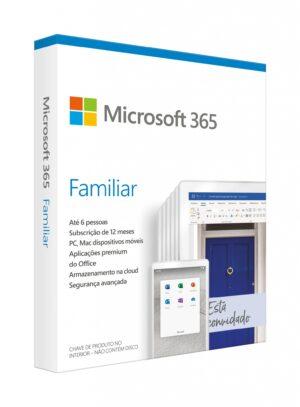 MICROSOFT 365 Familiar 1 Ano Multi-Linguagem Win/MAC Medialess