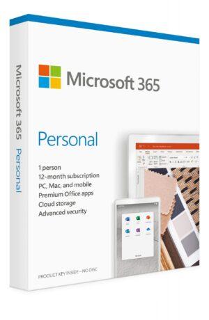 MICROSOFT 365 Personal EN 1 Ano Mac/Win Medialess