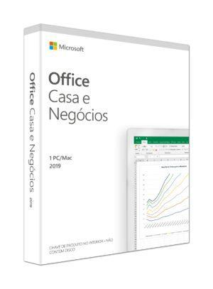 Microsoft Office Casa e Negócios 2019 PT Mac/Win
