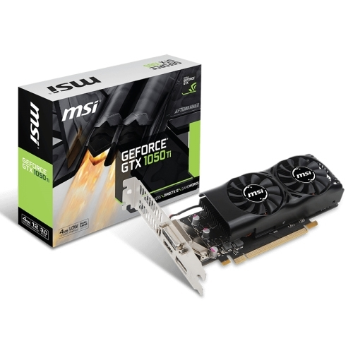 Placa Gráfica MSI GeForce GTX 1050 Ti LP 4GB DDR5