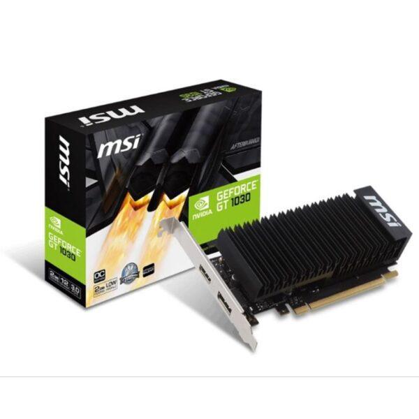 Placa Gráfica MSI GeForce GT1030 2GH LP OC GDDR5