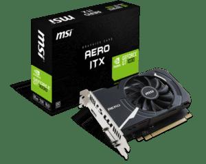 PLACA GRÁFICA MSI GeForce GT1030 AERO ITX 2GB OC GDDR5
