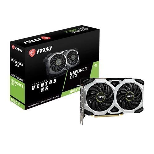 PLACA GRÁFICA MSI GeForce GTX1660 TI VENTUS XS 6G