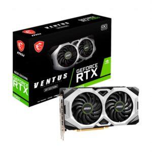 Placa gráfica MSI GeForce RTX2060 VENTUS GP OC 6GB DDR6 PCI-E 3.0