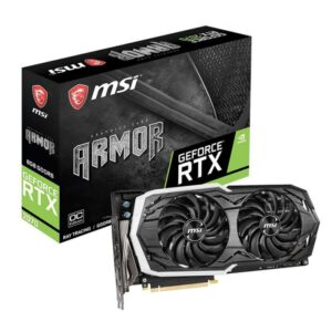 Placa Gráfica MSI RTX 2070 ARMOR OC 8GB DDR6 PCI-E
