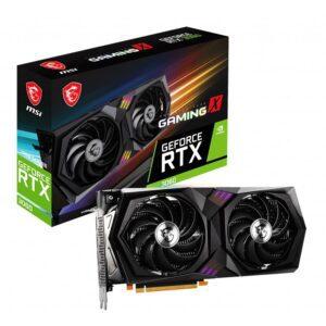 Placa Gráfica MSI GeForce RTX3060 GAMING X 12GB OC GDDR6