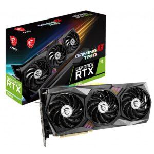 Placa Gráfica MSI GeForce RTX3060 GAMING X TRIO 12GB OC GDDR6