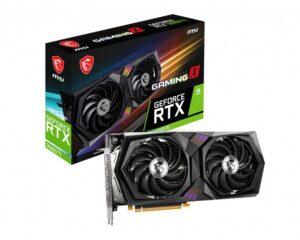 Placa Gráfica MSI GeForce RTX3060 TI GAMING X 8GB GDDR6