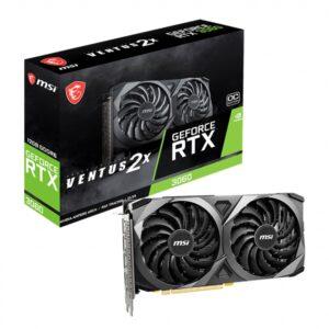 Placa Gráfica MSI GeForce RTX3060 VENTUS 2X 12GB OC GDDR6