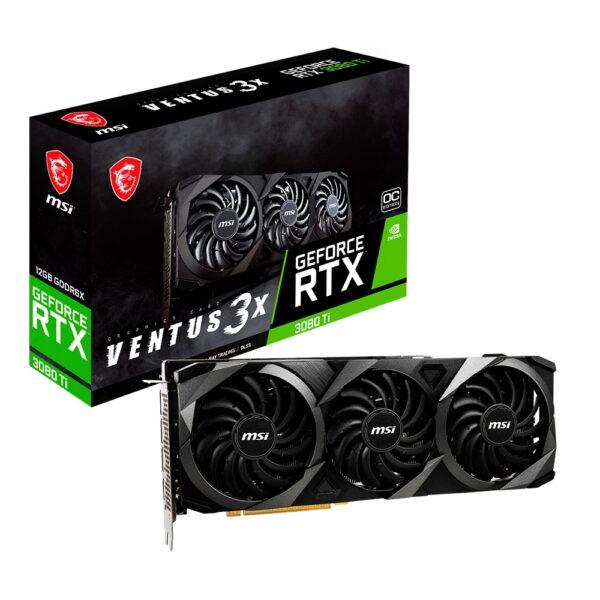 Placa Gráfica MSI GeForce RTX 3080 Ti Ventus 3X 12G OC