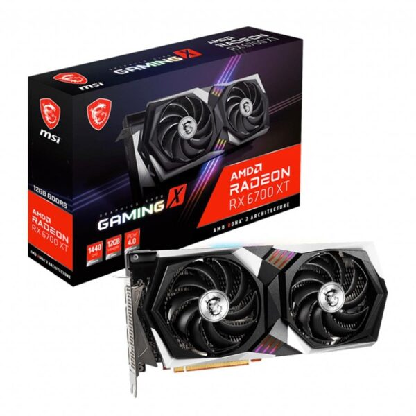 Placa Gráfica MSI RADEON RX 6700 XT GAMING X 12GB DDR6 PCI-E 4.0