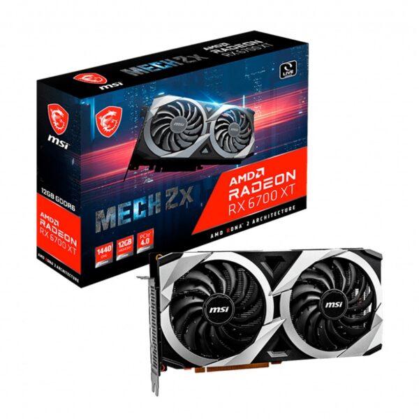 Placa Gráfica MSI RADEON RX 6700 XT MECH 2X 12GB DDR6 PCI-E 4.0