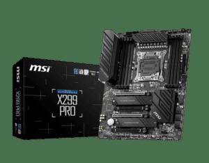 Motherboard MSI X299 PRO