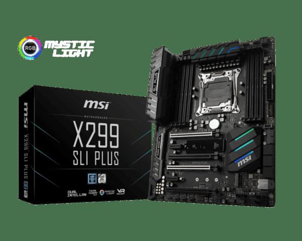 Motherboard MSI X299 SLI PLUS