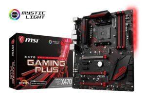 MOTHERBOARD MSI X470 GAMING PLUS