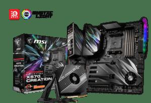 Motherboard MSI PRESTIGE X570 CREATION