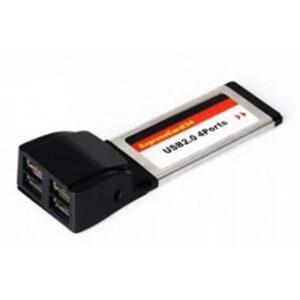 CONTROLADORA DELOCK 4 Portas USB 2.0 PCMCIA - 61234