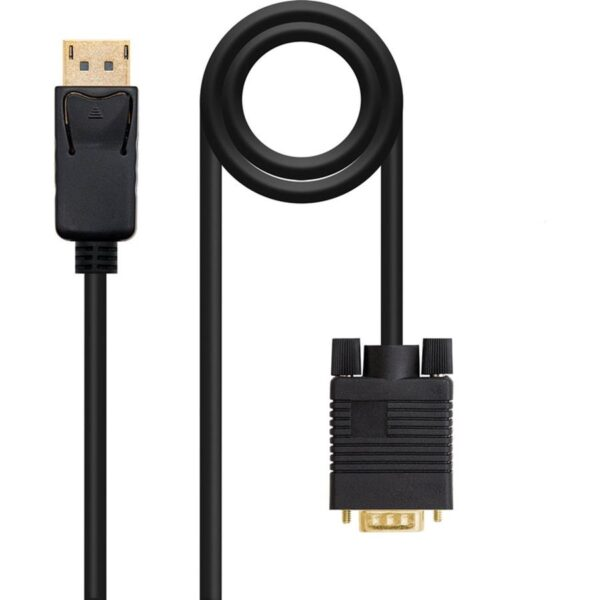 Cabo NANOCABLE DisplayPort Macho - VGA Macho 3m
