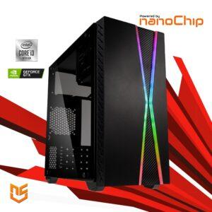 Computador nanoGamer Intel i3 10100F 8GB 240GB GTX 1050