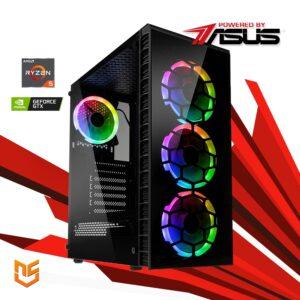 Computador nanoGamer Ryzen 5 3600 16GB 500GB GTX 1650