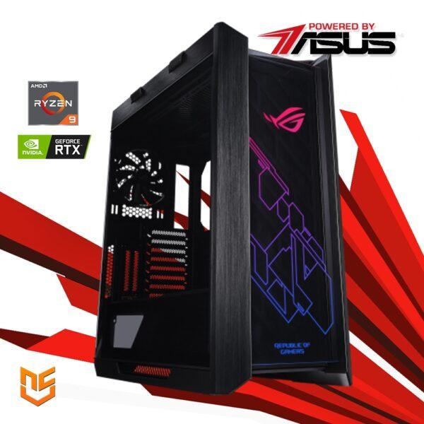 Computador nanoGamer Ryzen 9 5900X 64GB 1TB RTX 3090