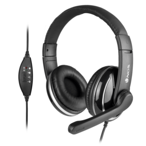 Headset NGS Vox 800 Stereo USB