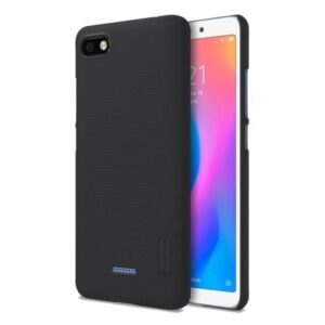 Capa NILLKIN Sparkle Pele Xiaomi Redmi 6A Preto
