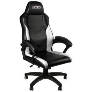 Cadeira Gaming NITRO CONCEPTS C100 Preto/Branco