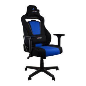 Cadeira Gaming NITRO CONCEPTS E250 Preto/Azul