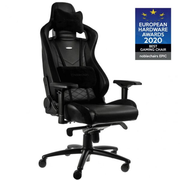 Cadeira NOBLECHAIRS Gaming EPIC PU Leather Preta