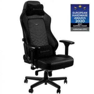 Cadeira NOBLECHAIRS Gaming HERO PU Leather Preta