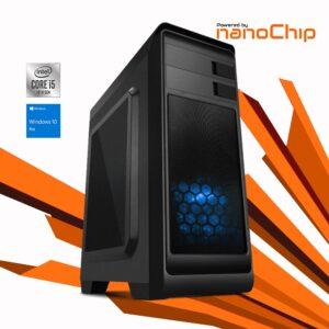 Computador nanoWorker Intel i5 10400 8GB 500GB W10PRO