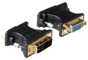 Adaptador HITEC DVI 24+5 Macho / VGA Fêmea