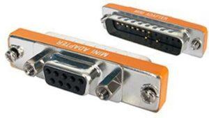 ADAPTADOR MicroConnect MINI DB9H / DB25H