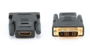 Adaptador OEM HDMI Fêmea / DVI-I 18+1 Macho