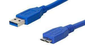 Cabo OEM USB 3.0 Tipo A Macho -> Micro B Macho 0,5m