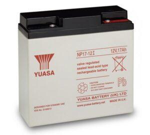 Bateria de Chumbo Yuasa VRLA 12V 17Ah