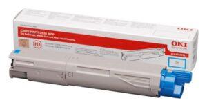 Toner OKI C3520MFP/C3530MFP/MC350L Cyan - 43459371
