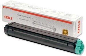 Toner OKI B4100/4200/4250/4300/4350 Preto - 01103402